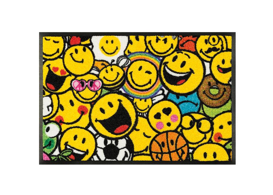 Image of Kleen-Tex Matto SMILEY ALLOVER 50x75 cm