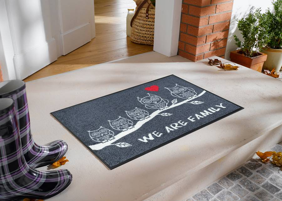 Image of Kleen-Tex Matto WE ARE FAMILY 50x75 cm