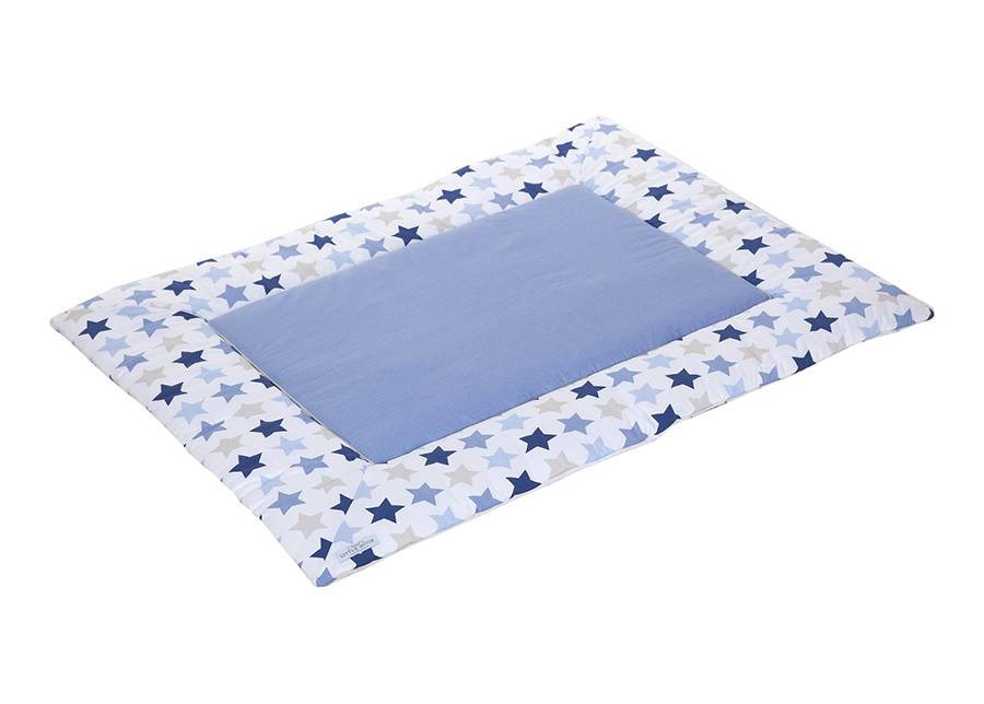 Little Dutch Leikkimatto MIXED STARS BLUE 80x100 cm