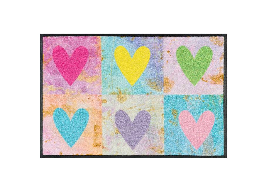 Image of Kleen-Tex Matto CANDY HEARTS 50x75 cm