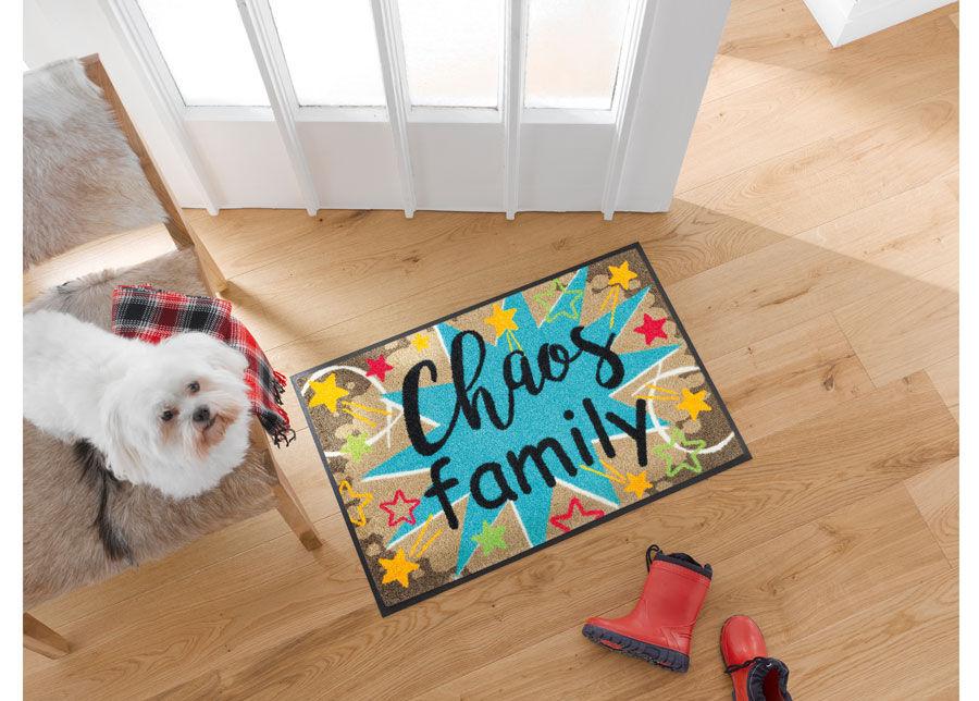 Kleen-Tex Matto CHAOS FAMILY 50x75 cm