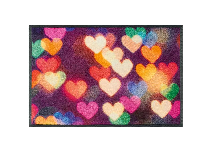 Image of Kleen-Tex Matto CITY HEARTS 50x75 cm