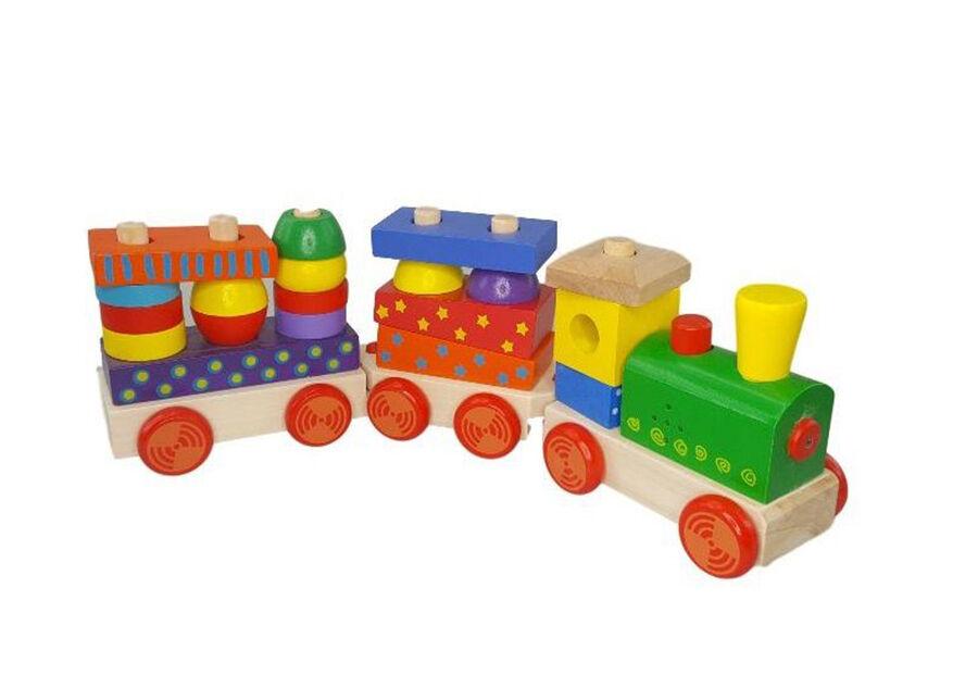 HKTEC Puinen junarata äänellä