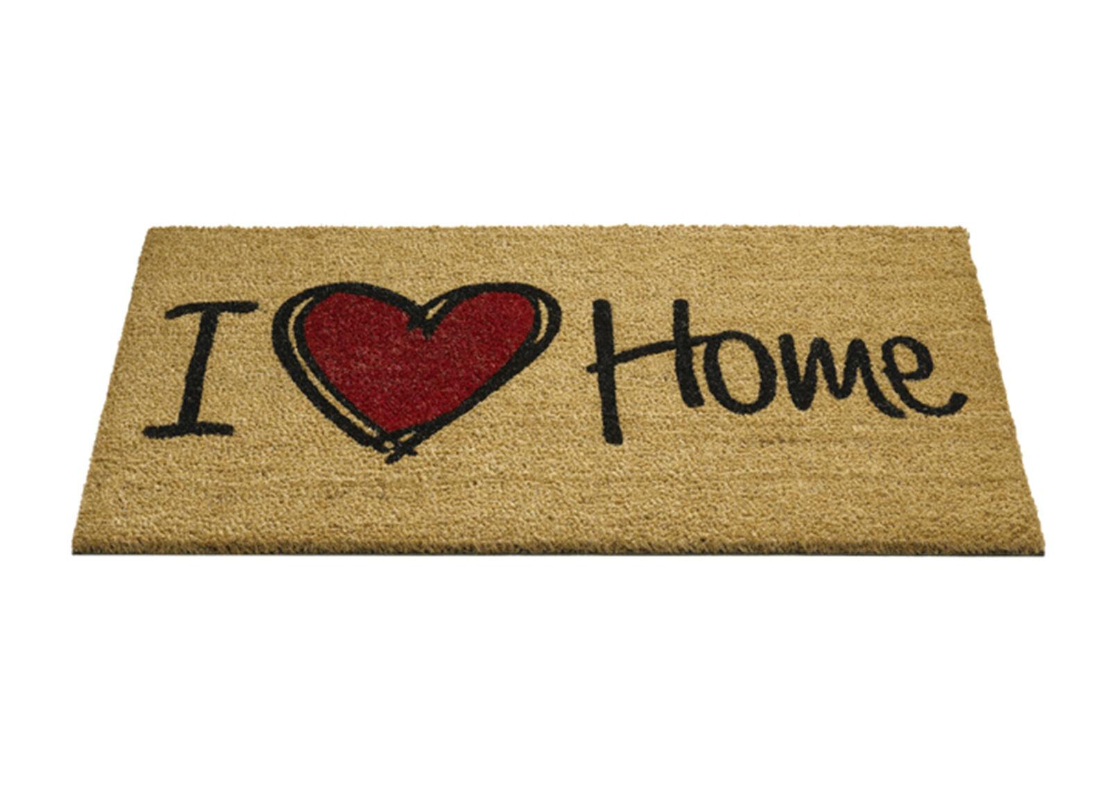 Hamat Ovimatto Ruco Print I love home 45x75 cm