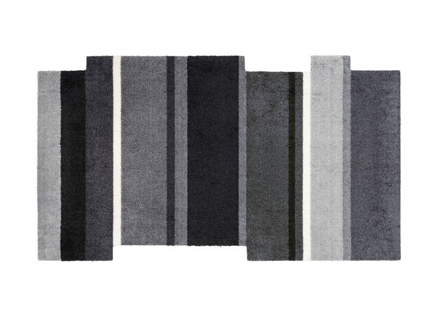 Image of Kleen-Tex Matto Dancing Steps black 70x120 cm