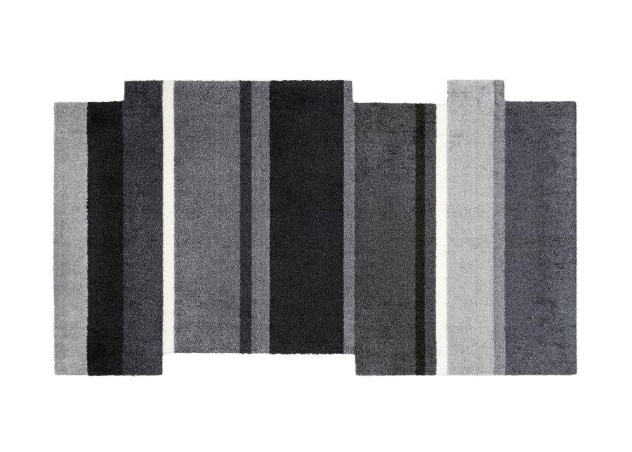 Image of Kleen-Tex Matto Dancing Steps black 70x120 cm