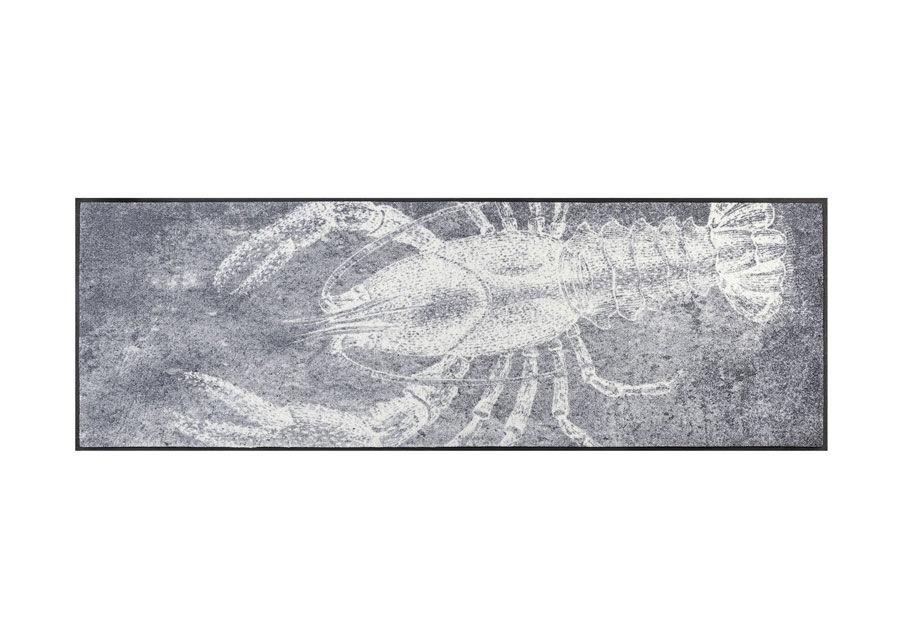 Image of Kleen-Tex Matto Grey Lobster 60x180 cm