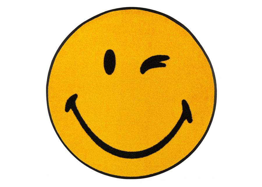 Image of Kleen-Tex Matto Smiley Winky Ø 75 cm