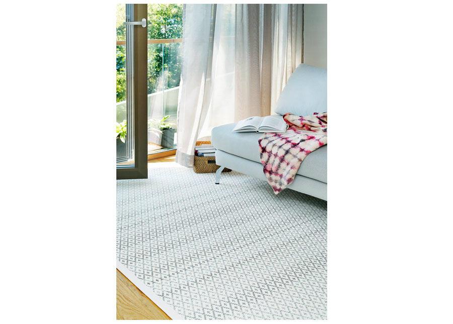 newWeave Narma smartWeave® matto Tsirgu white 140x200 cm