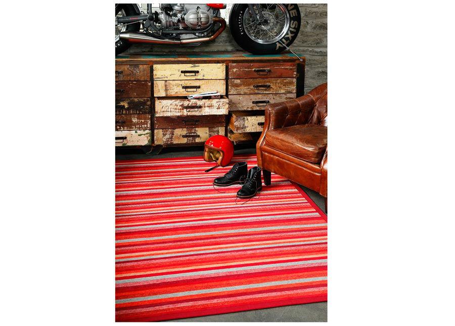 newWeave Narma smartWeave® matto Liiva red 200x300 cm