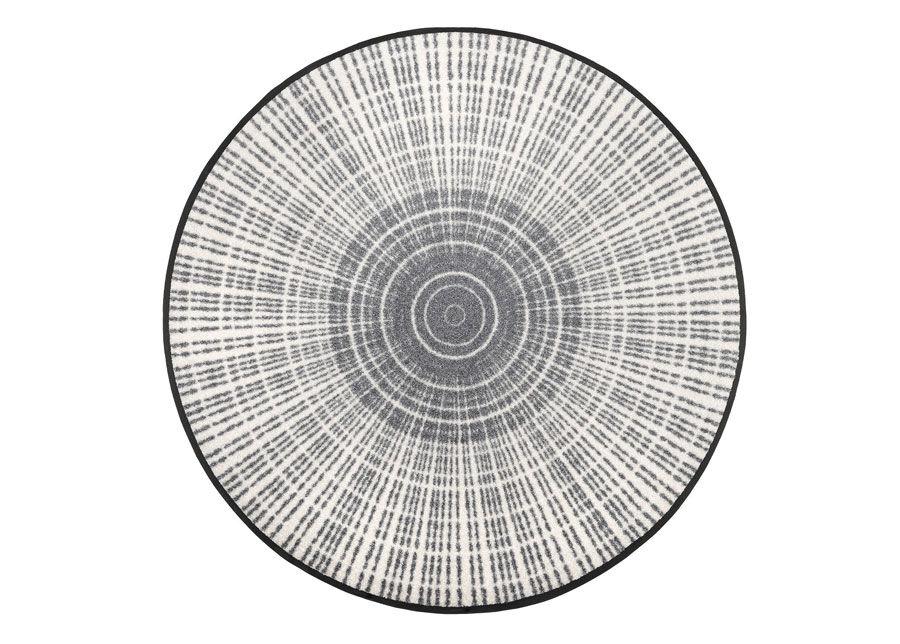 Image of Kleen-Tex Pyöreä matto Cascara grey Ø 115 cm