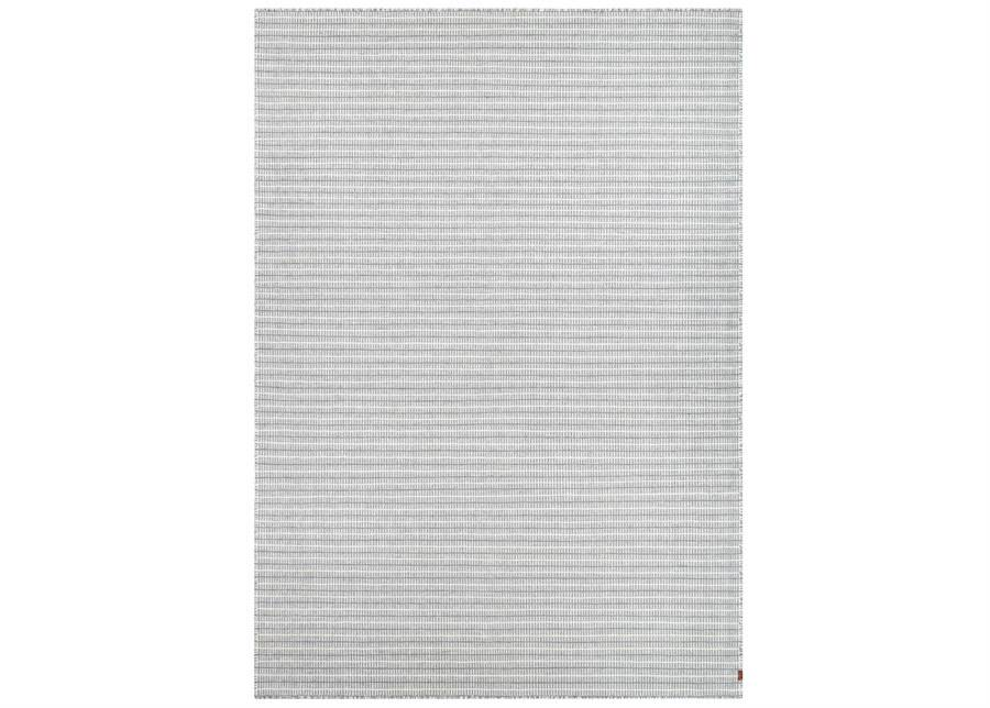 Image of newWeave Narma käsinkudottu villamatto Jonava grey 140x200 cm