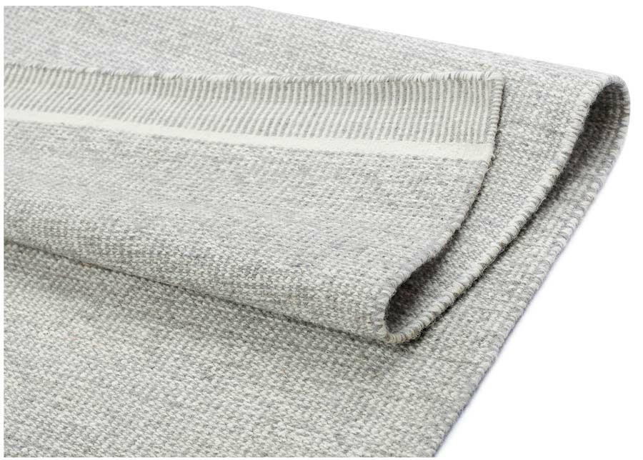 Image of newWeave Narma käsinkudottu villamatto Nummela grey 160x230 cm
