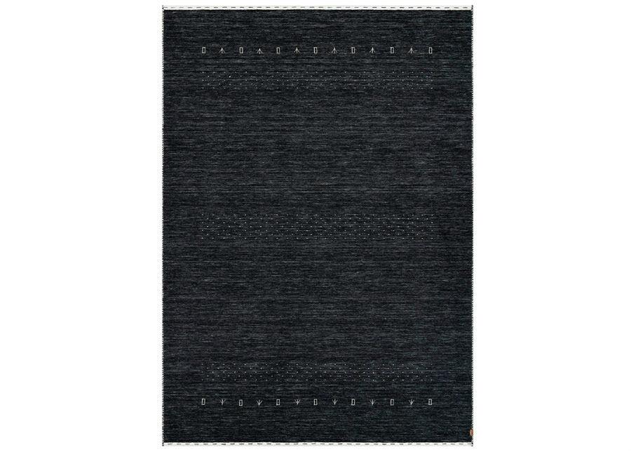 Image of newWeave Narma käsinkudottu villamatto Tornio charcoal 160x230 cm