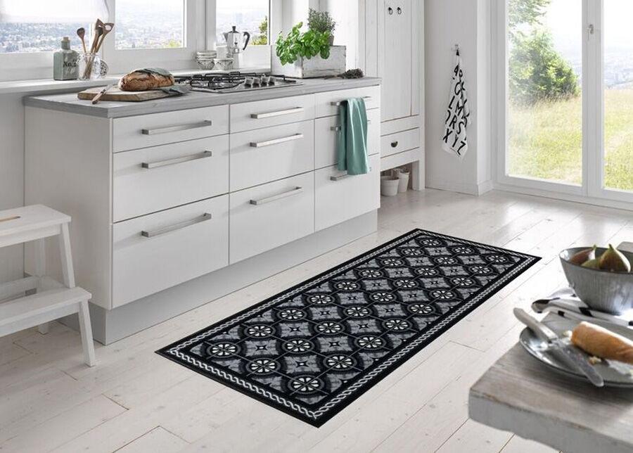 Image of Kleen-Tex Matto Kitchen Tiles black 75x190 cm