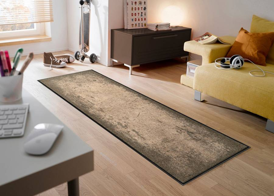 Image of Kleen-Tex Matto Shades of Brown 50x75 cm
