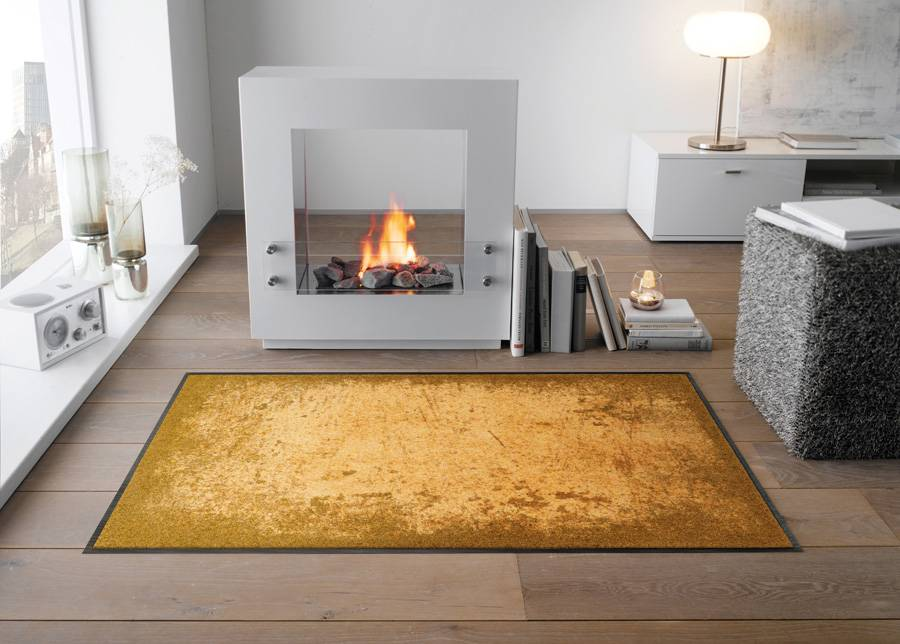 Image of Kleen-Tex Matto Shades of Gold 60x180 cm
