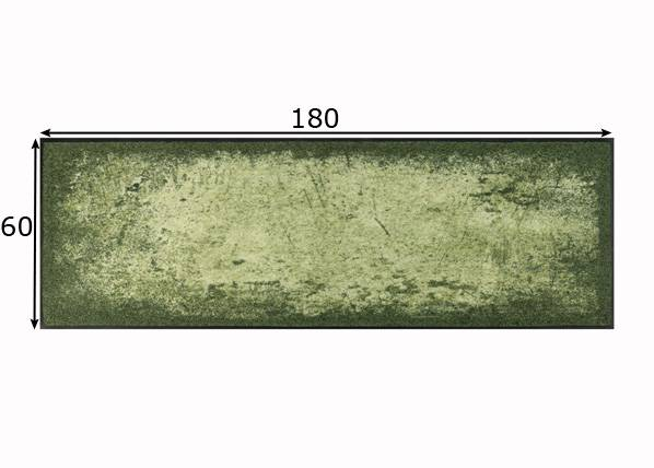 Image of Kleen-Tex Matto Shades of Green 60x180 cm