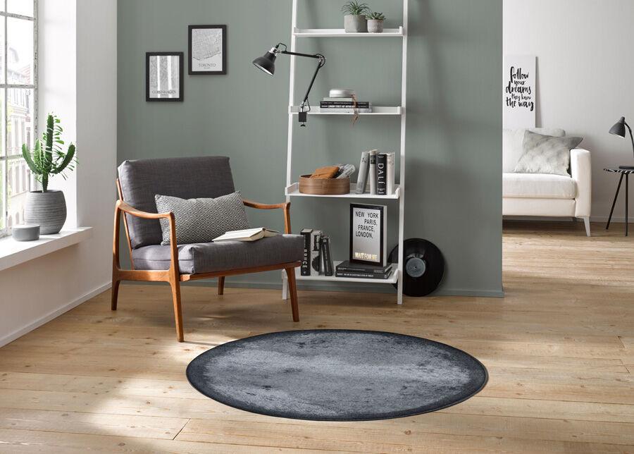 Image of Kleen-Tex Pyöreä matto Shades of Grey Ø 115 cm