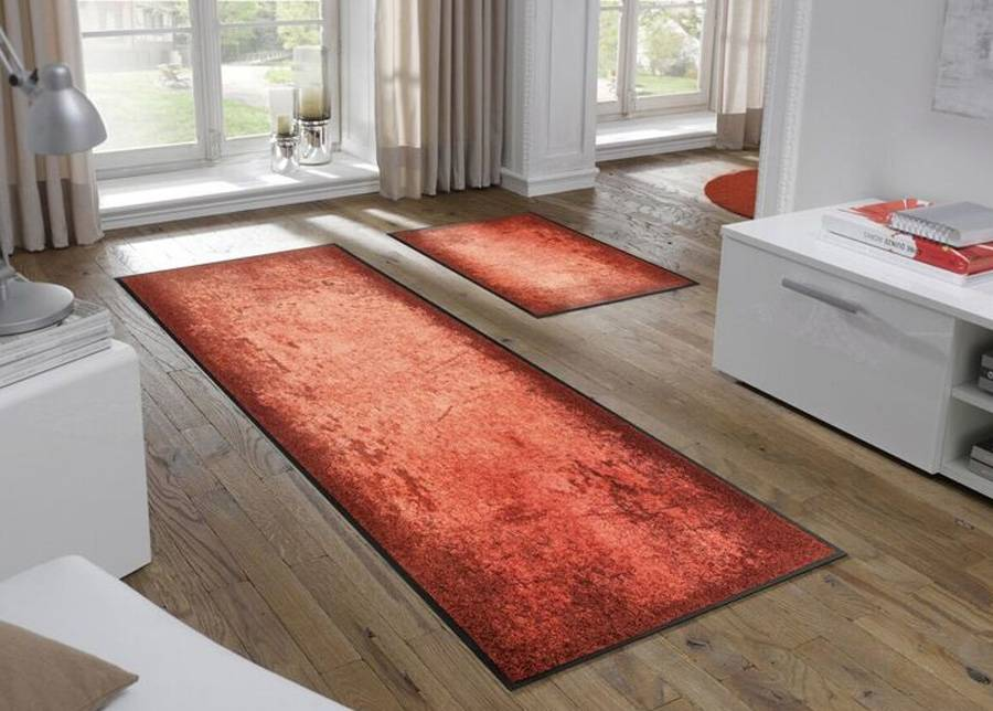 Image of Kleen-Tex Matto Shades of Red 50x75 cm