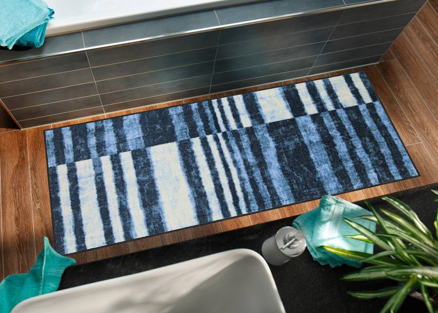 Image of Salonloewe Matto NDenim Stripes 75x190 cm