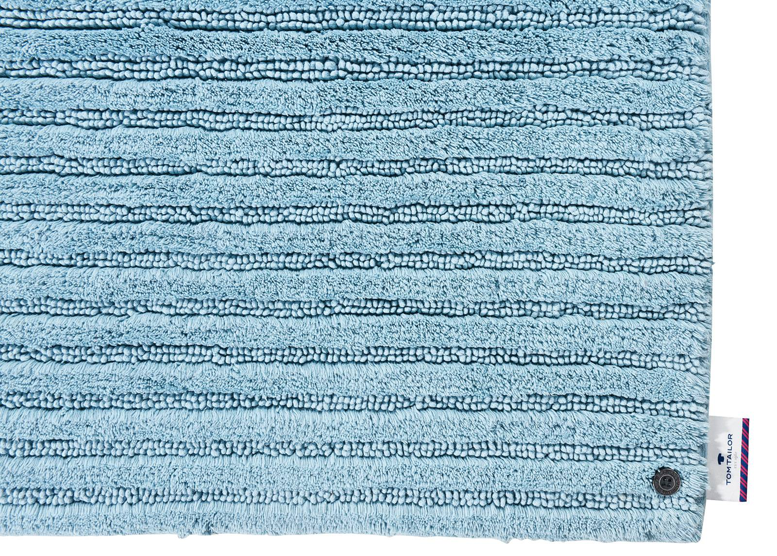 TOM TAILOR Kylpyhuoneen matto Cotton Stripe 60x100 cm