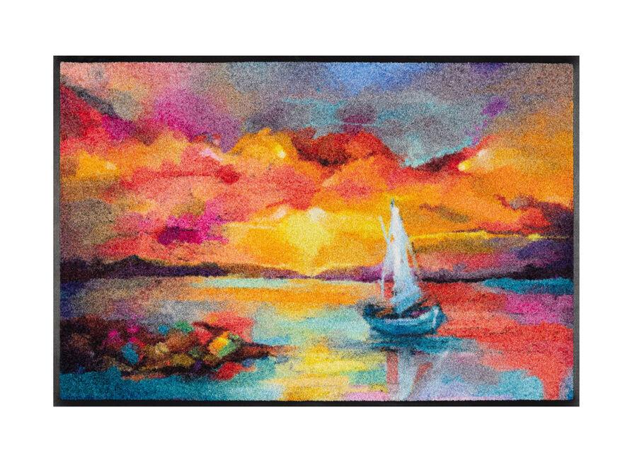 Image of Kleen-Tex Matto Sunset Boat 50x75 cm