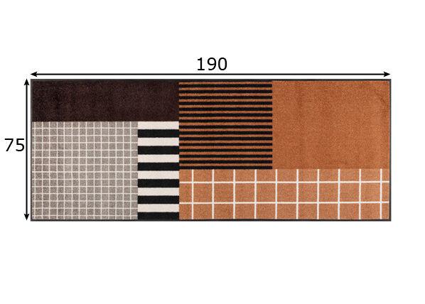 Image of Kleen-Tex Matto Tastiera 75x190 cm