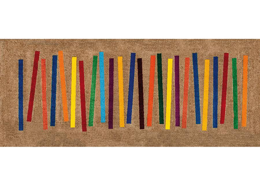 Image of Kleen-Tex Matto MIXED STRIPES 80x200 cm