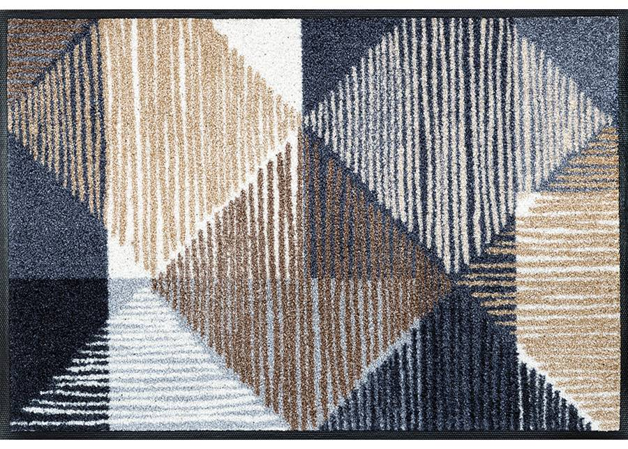Image of Kleen-Tex Matto LINES AND BOXES 50x75 cm