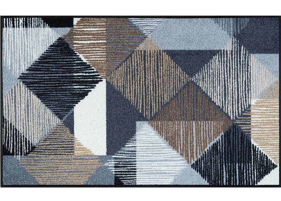 Image of Kleen-Tex Matto LINES AND BOXES 75x120 cm