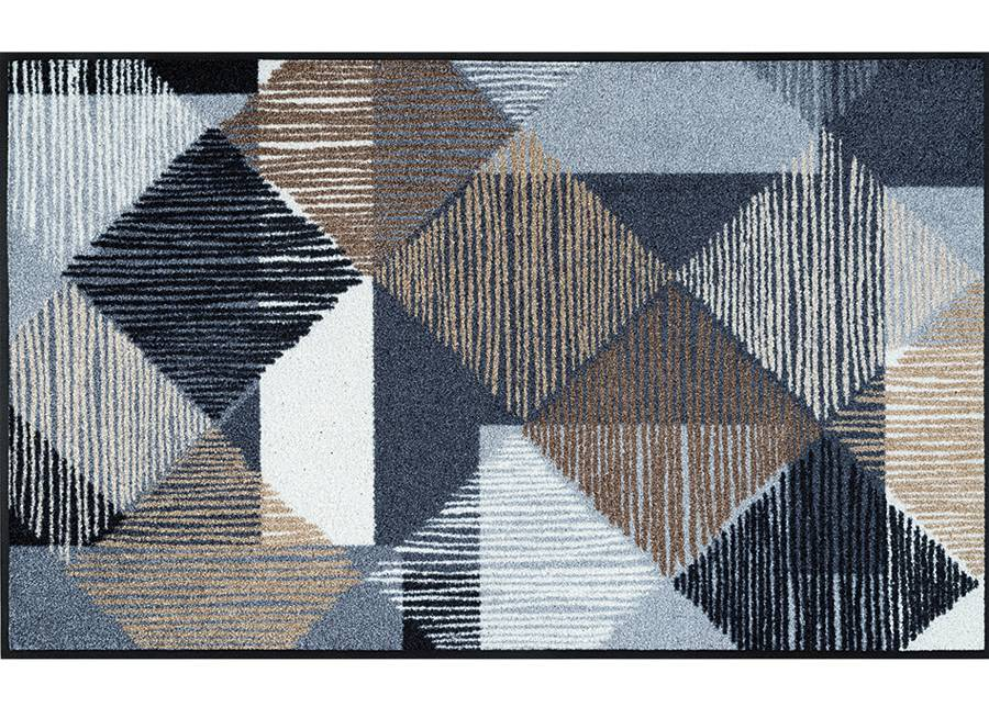 Image of Kleen-Tex Matto LINES AND BOXES 115x175 cm