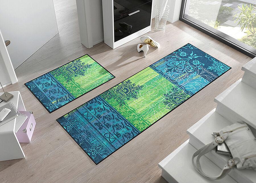 Kleen-Tex Matto BORDA GREEN 50x75 cm