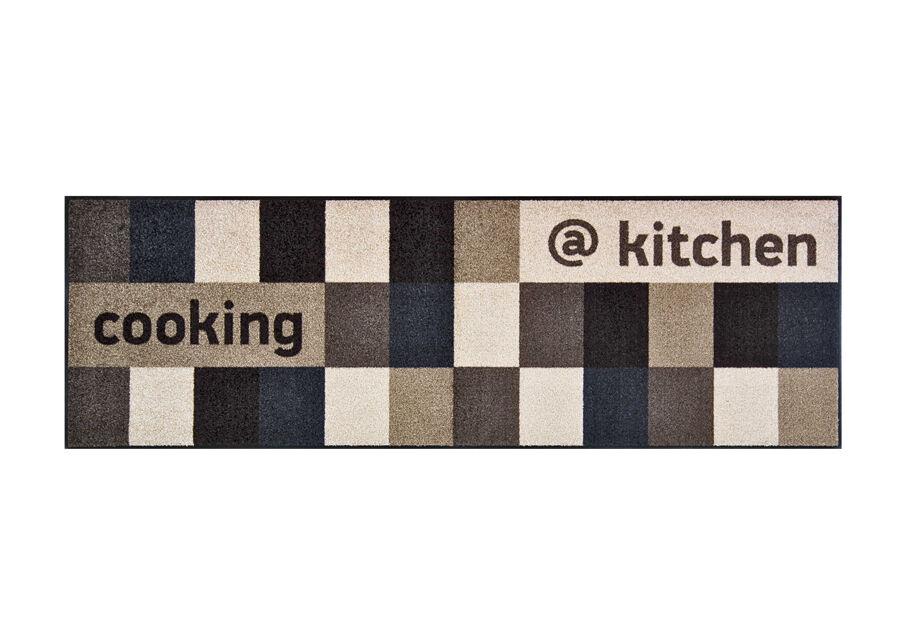 Image of Kleen-Tex Matto @KITCHEN BROWNISH 60x180 cm