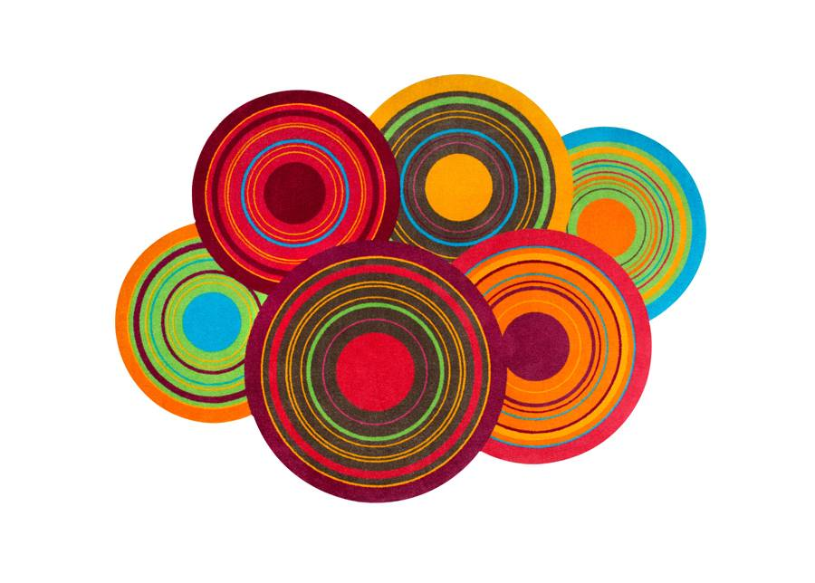 Image of Kleen-Tex Matto COSMIC COLOURS 110x175 cm