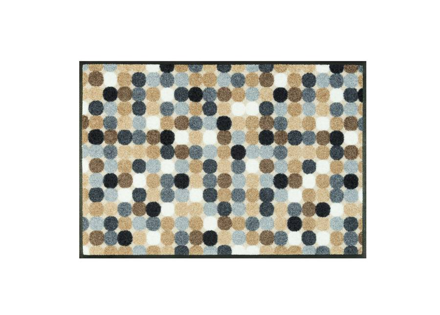 Image of Kleen-Tex Matto MIKADO DOTS NATURE 50x75 cm