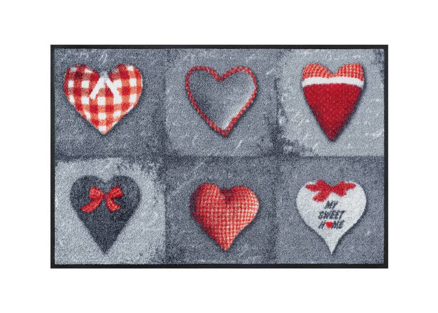 Image of Kleen-Tex Matto MY SWEET HOME GREY 50x75 cm