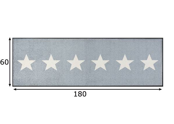 Image of Kleen-Tex Matto STARS 60x180 cm
