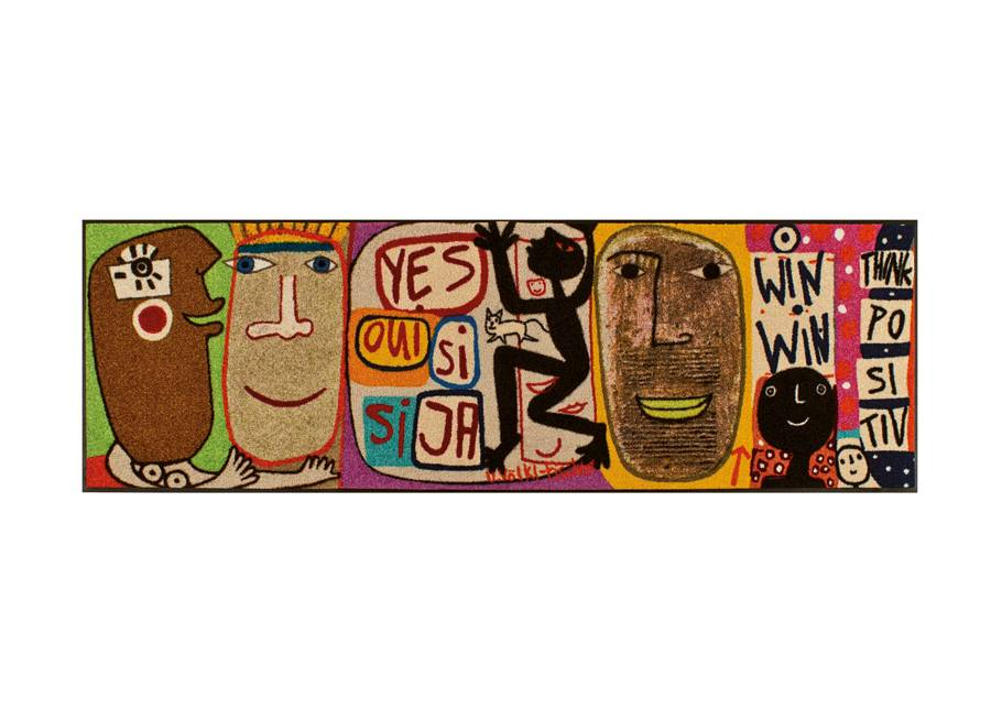 Image of Kleen-Tex Matto THINK POSITIV 60x180 cm