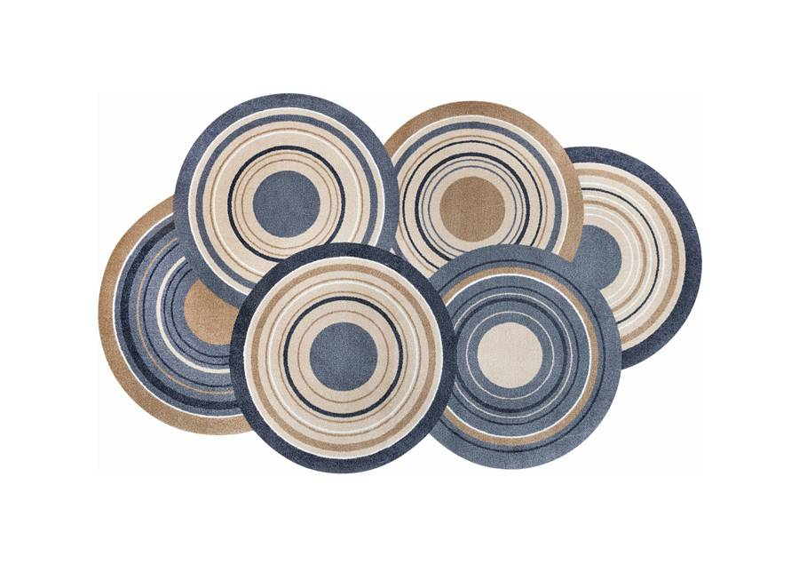 Kleen-Tex Matto COSMIC COLOURS 70x120 cm