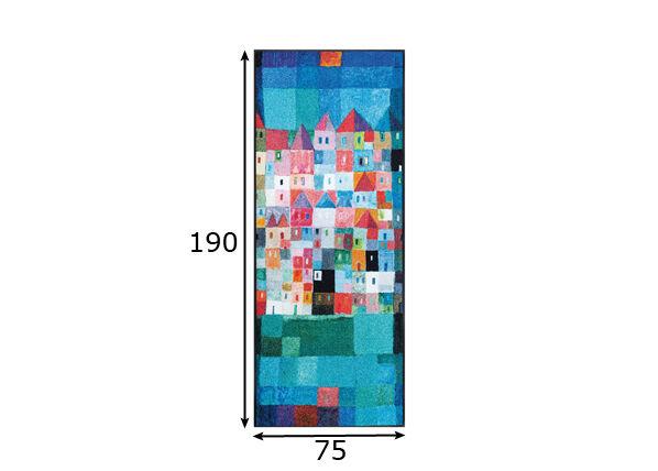 Image of Kleen-Tex Matto COLOURFUL HOYSES 75x190 cm