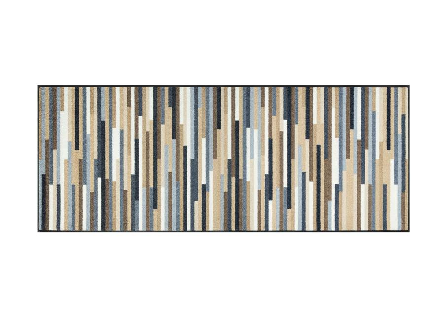 Image of Kleen-Tex Matto MIKADO STRIPES NATURE 75x190 cm