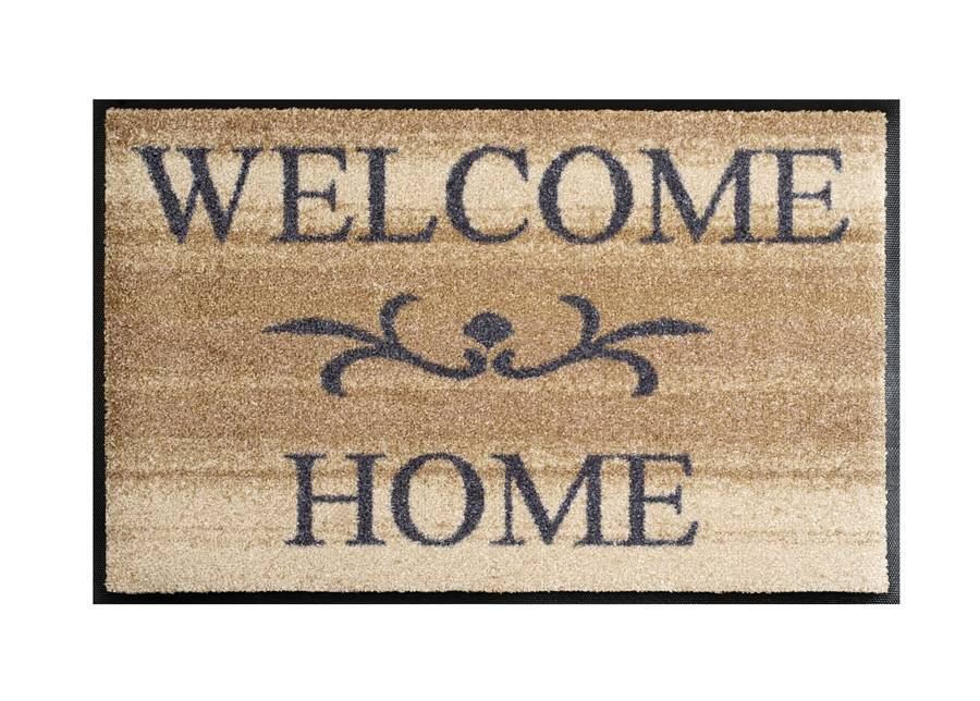 Image of Kleen-Tex Matto WELCOME HOME BEIGE 50x75 cm