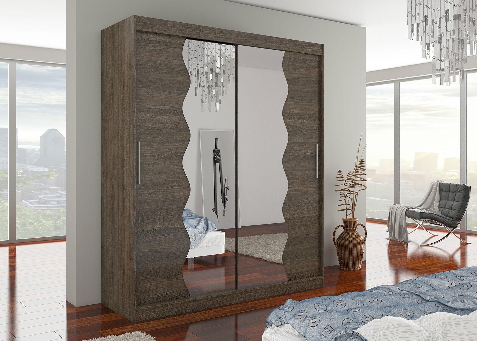 ADRK riidekapid Vaatekaappi liukuovilla 180 cm