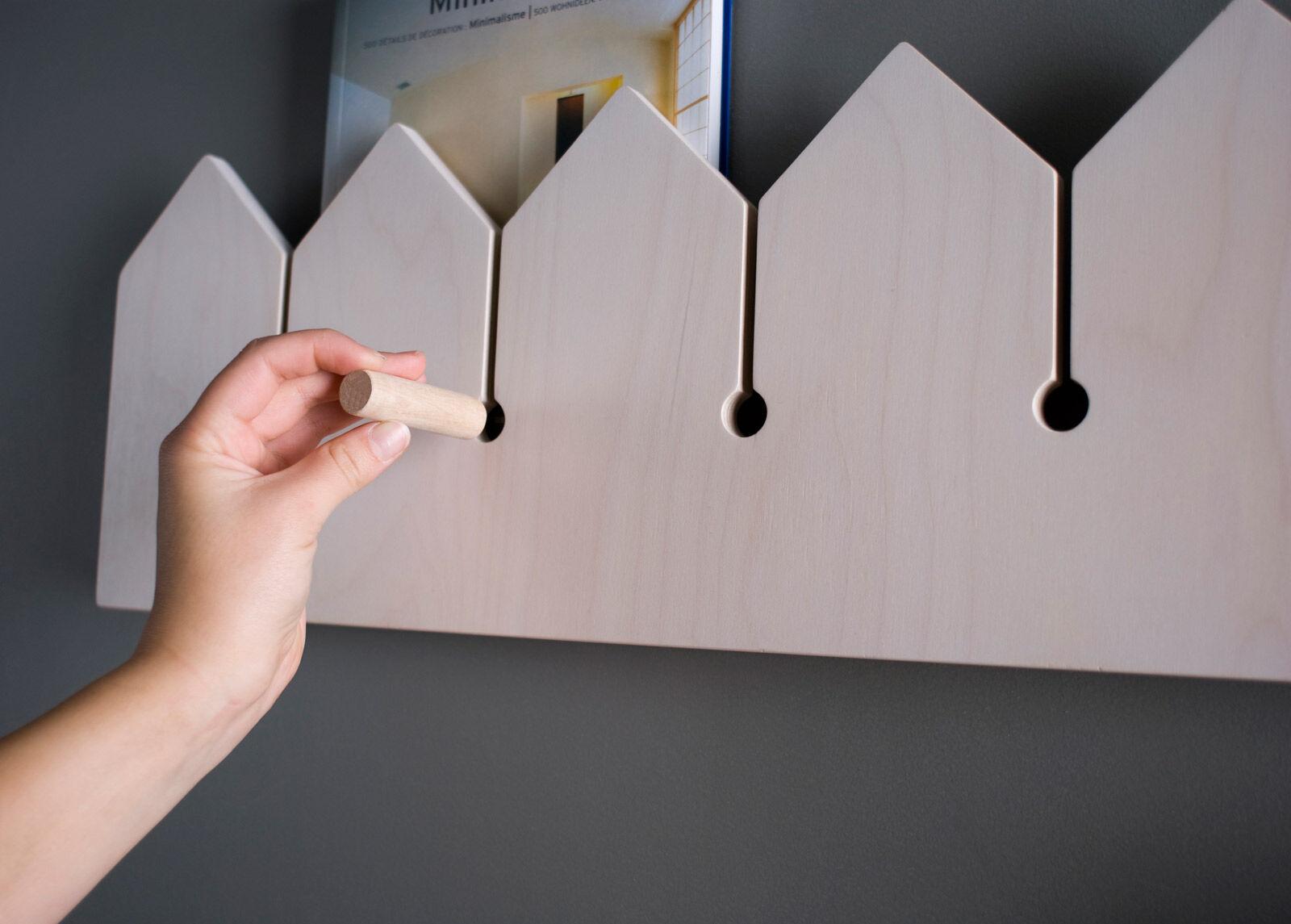 NIPSTI! Seinähylly / seinänaulakko Puutarha (M)
