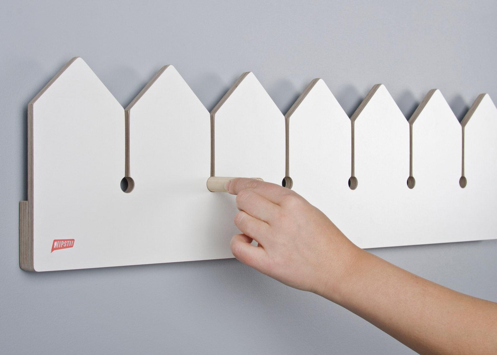 NIPSTI! Seinähylly / seinänaulakko Puutarha (L)