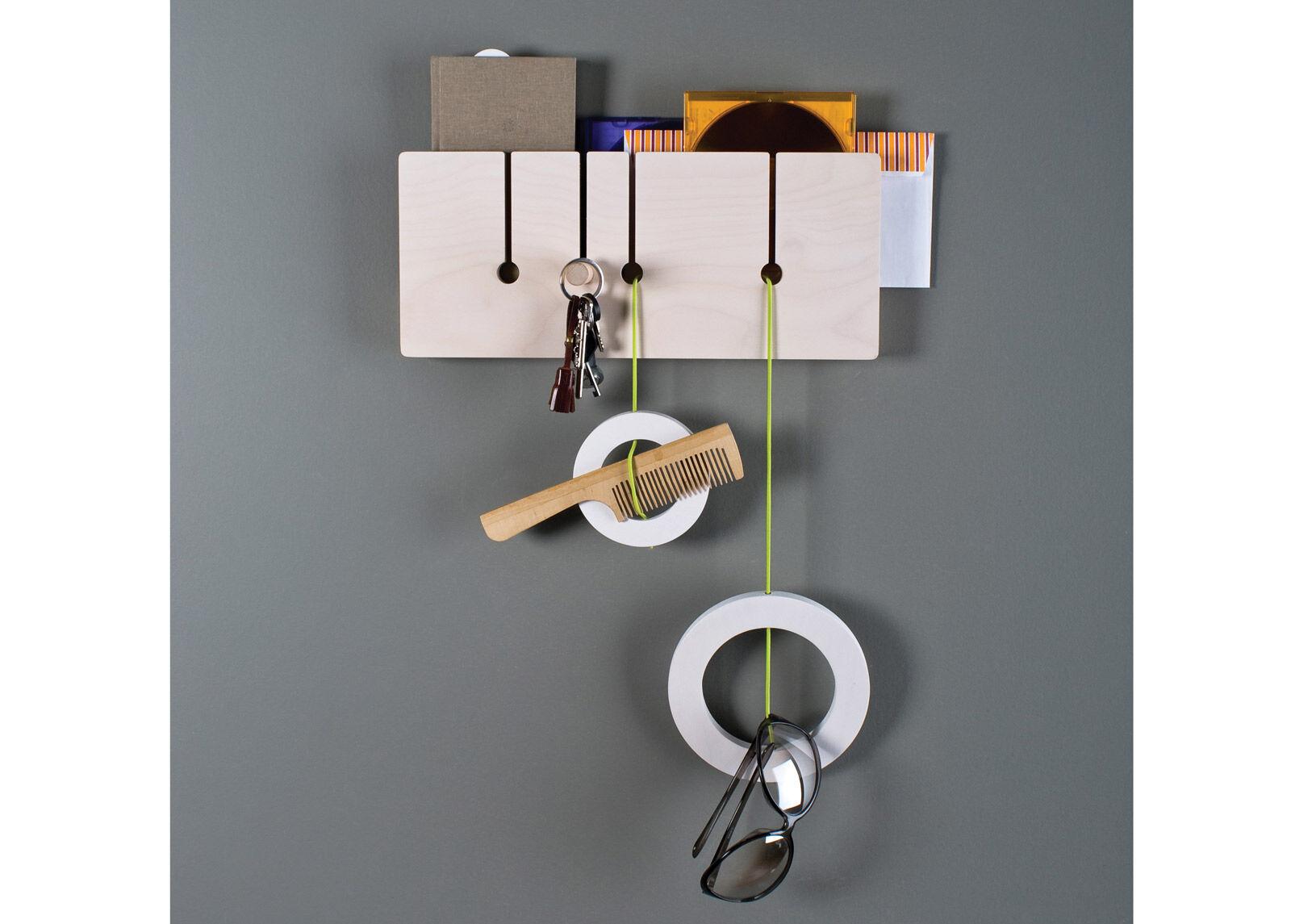 NIPSTI! Seinähylly / seinänaulakko Suora (S)
