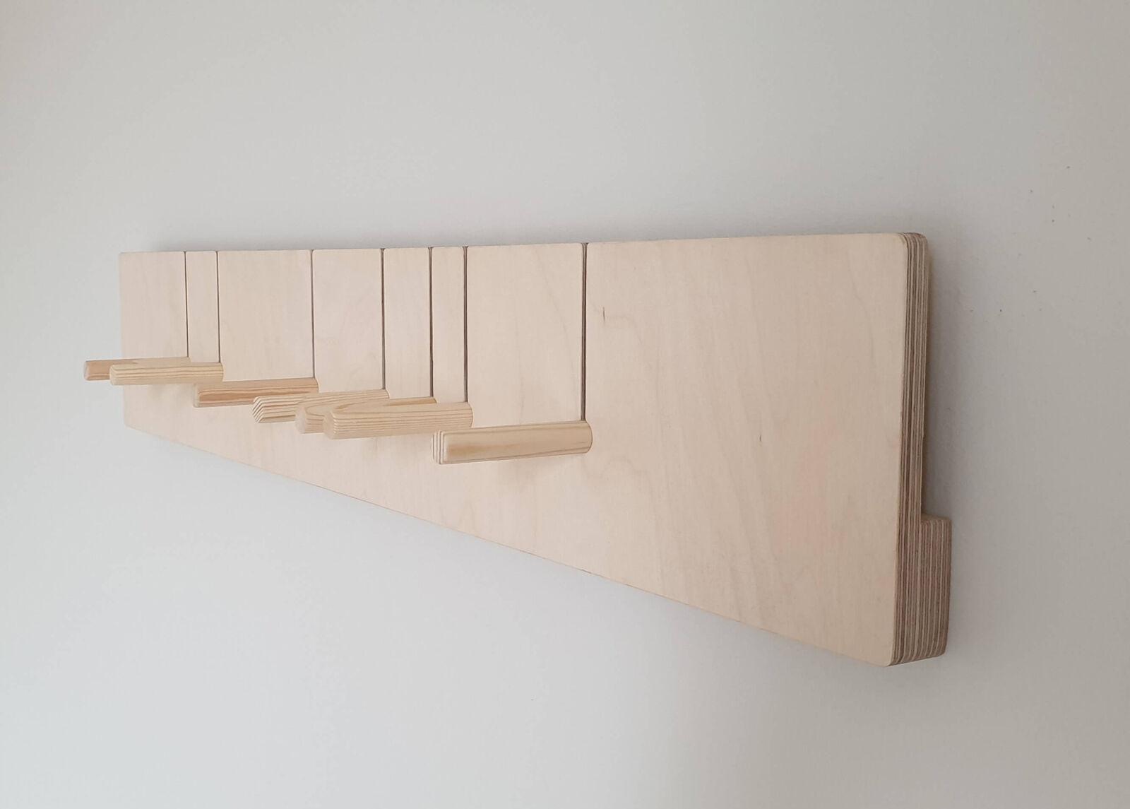 NIPSTI! Seinähylly / seinänaulakko Suora (M)