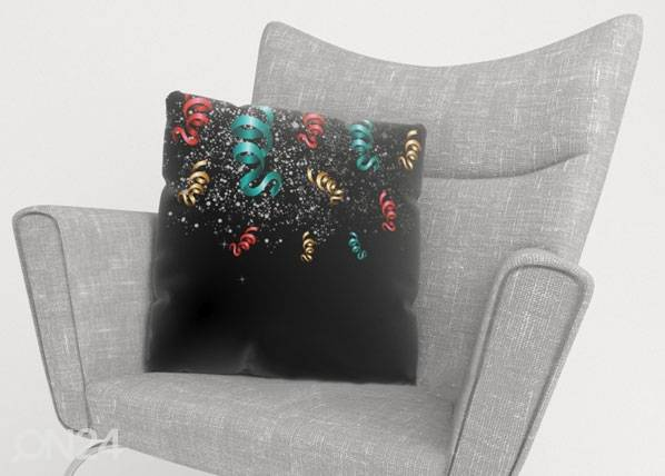 Image of Wellmira Koristetyynyliina CHRISTMAS TINSEL 40x60 cm