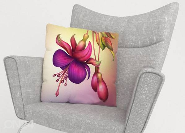 Image of Wellmira Koristetyynyliina FLOWER 40x60 cm